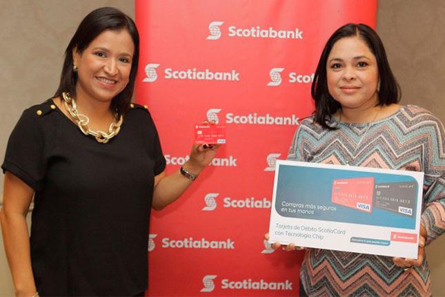 Scotiabank lanza nuevas tarjetas bancarias en El Salvador