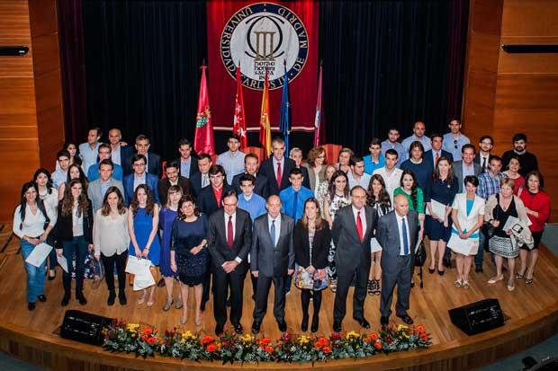 Banco Santander y la UC3M entrega los Premios Excelencia 2015