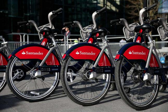 Banco Santander presenta la app Santander Cycles