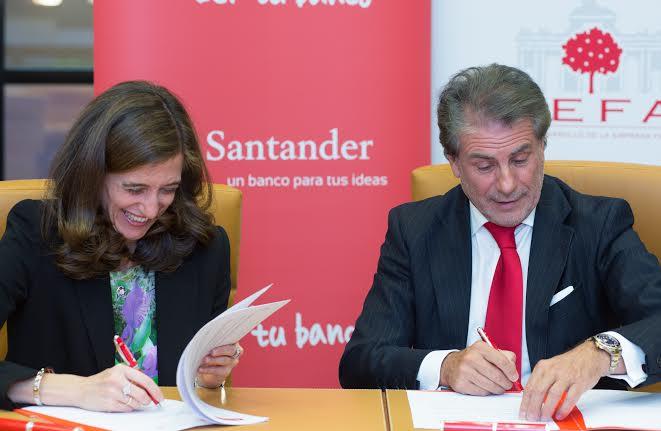 Banco Santander y ADEFAM amplían su colaboración