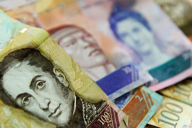 El Banco Central de Venezuela busca papel moneda