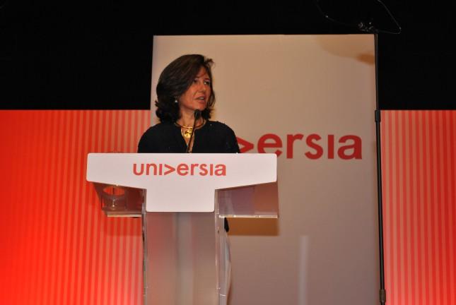 Ana Botín preside la XV Junta General de Accionistas de Universia