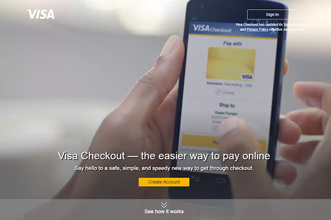 Visa Checkout llega a Colombia