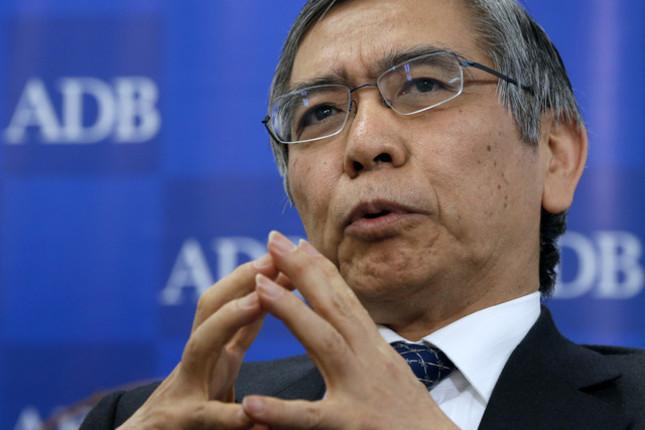 Kuroda (BoJ): las expectativas de inflación son débiles
