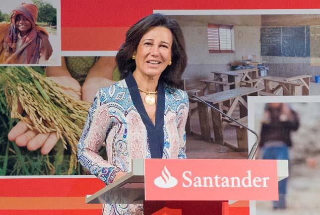 Ana Botín aboga por grandes bancos para competir con los gigantes tecnológicos