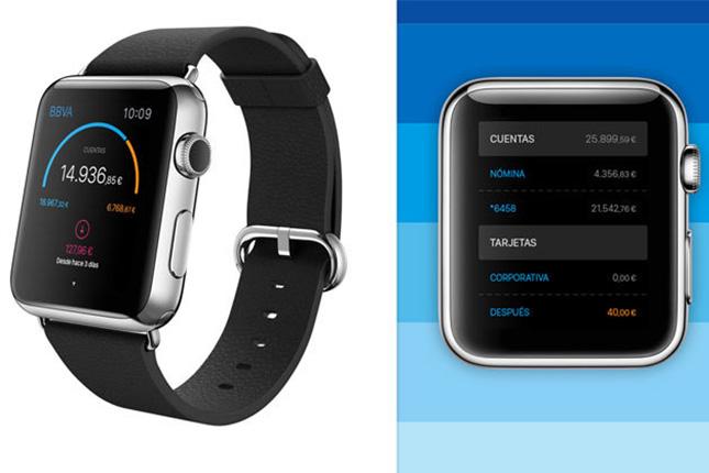 BBVA lanza su aplicación de banca móvil para el Apple Watch
