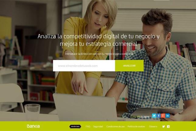 Bankia Índicex analiza la competencia digital de pymes en Internet