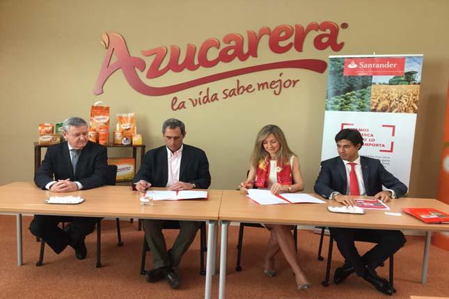 Banco Santander firma acuerdo con Azucarera