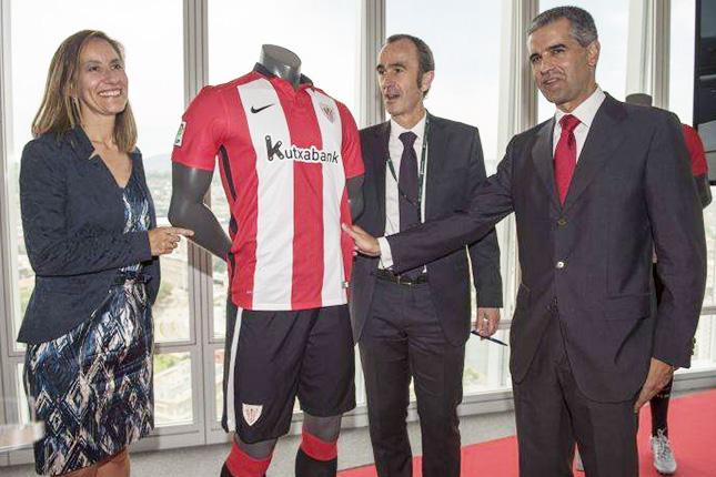 Kutxabank, patrocinante principal de Athletic Club hasta 2019