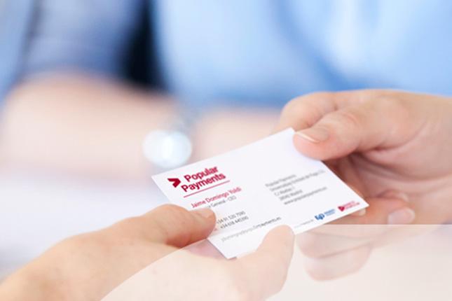 Popular Payments aceptará pagos con tarjetas de UnionPay