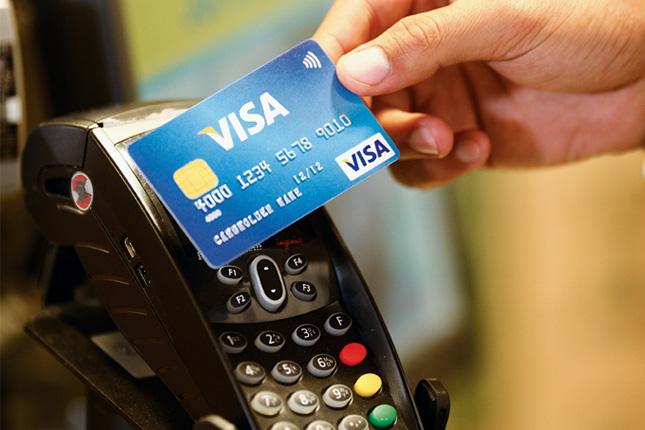 Los pagos con tarjeta en España se ubican en el 45,9%