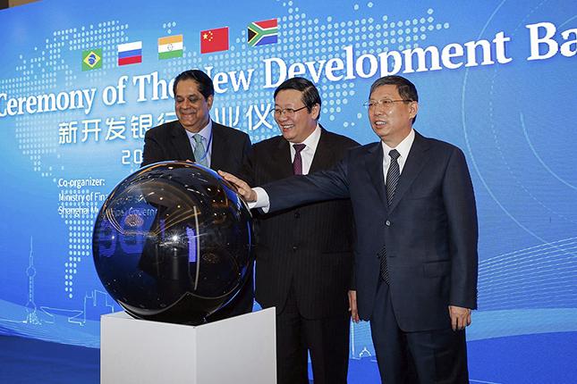 El Nuevo Banco de Desarrollo prevé otorgar créditos por 4.000 millones de dólares en 2018