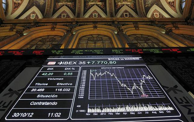 El Ibex rebota un 0,57% en la apertura