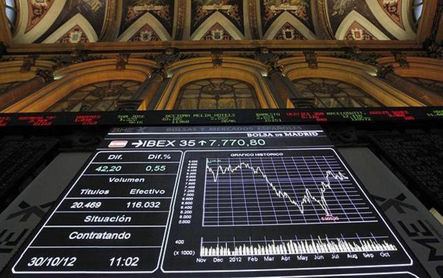 El Ibex cae un 1,1% en la apertura