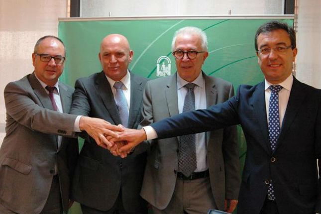 La Agencia de Innovación y Desarrollo de Andalucía (IDEA), BBVA y Cajamar han acordado la puesta en marcha del Fondo Jeremie Energía