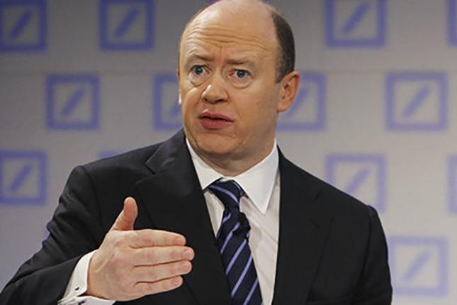 John Cryan, co-consejero delegado, Deutsche Bank