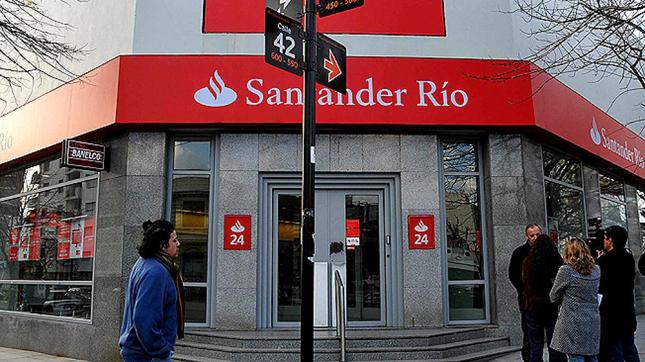 Banco Santander invertirá 1.237 millones de euros en Argentina hasta 2018