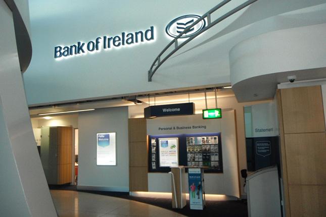 Bank of Ireland aumenta su beneficio un 45%