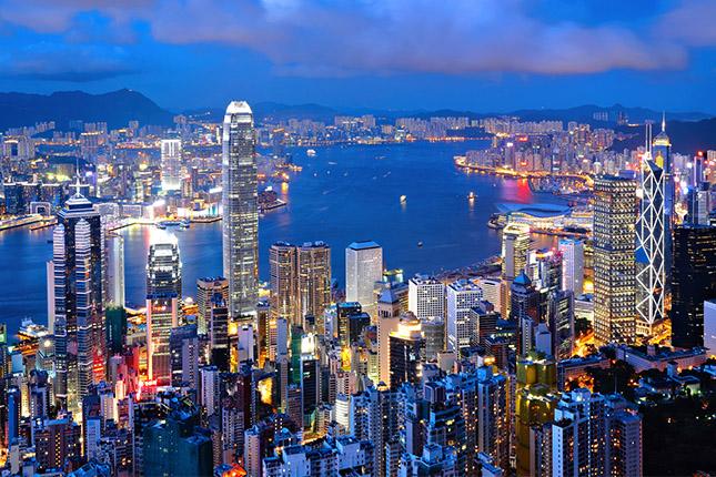 Fitch rebaja la calificación de Hong Kong