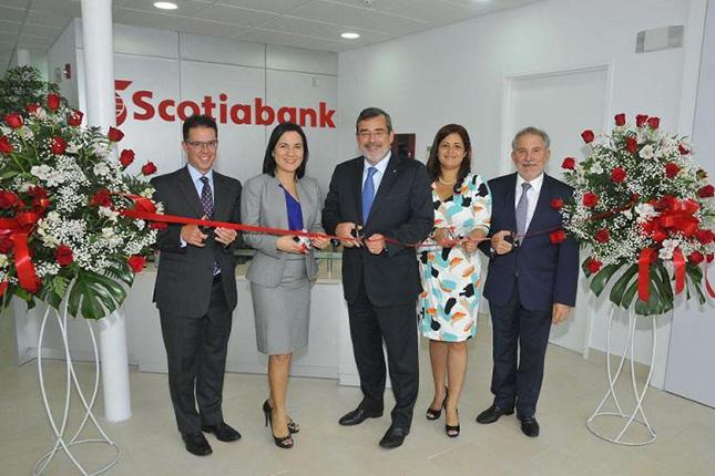 Scotiabank inaugura nueva sucursal en Panamá