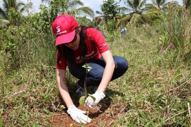 Caja Burgos y La Caixa ayudan al voluntariado ambiental