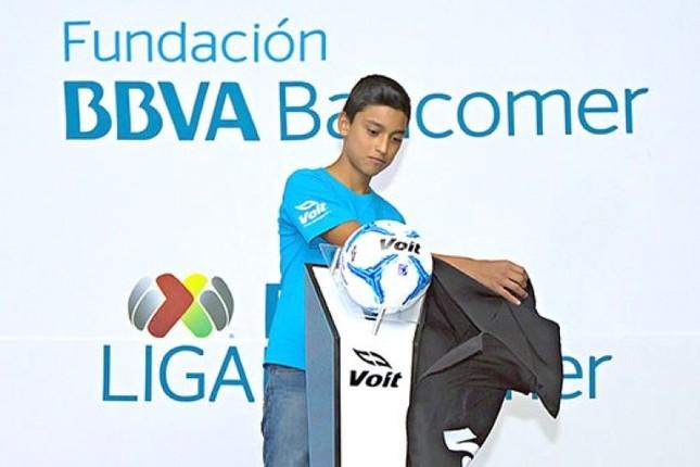 Liga MX, BBVA Bancomer y Voit han lanzado la campaña del Balón por la Educación