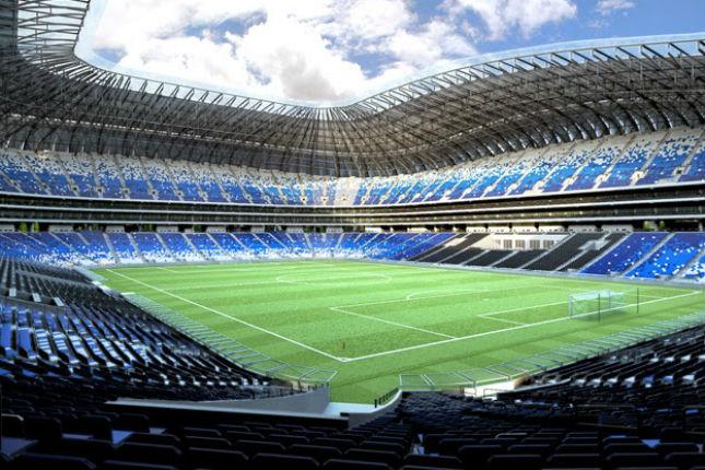 BBVA Bancomer inaugura nuevo estadio de los Rayados de Monterrey