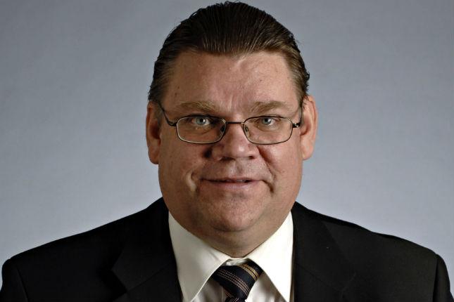 Timo Soini, ministro de Exteriores de Finlandia