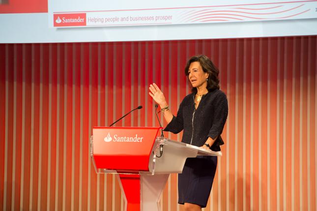 """Banco Santander quiere ser """"el mejor banco para clientes y accionistas"""""""