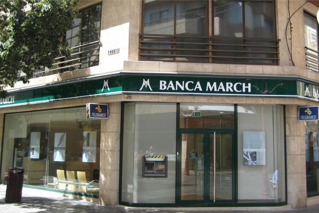 Banca March acuerda con Popular, ING, Bankinter y Deutsche Bank el uso gratuito de sus cajeros