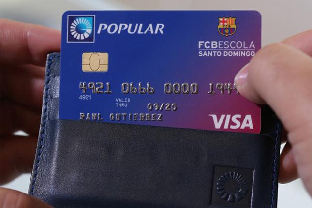 Banco Popular Dominicano lanza tarjeta verde Visa FCB Escola