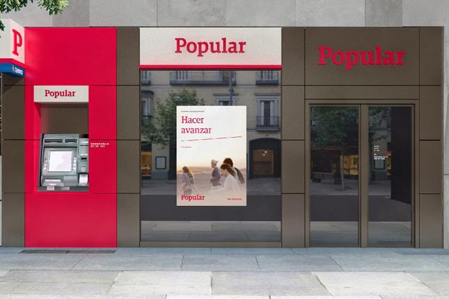 Banco Popular obtiene un 68,10% menos