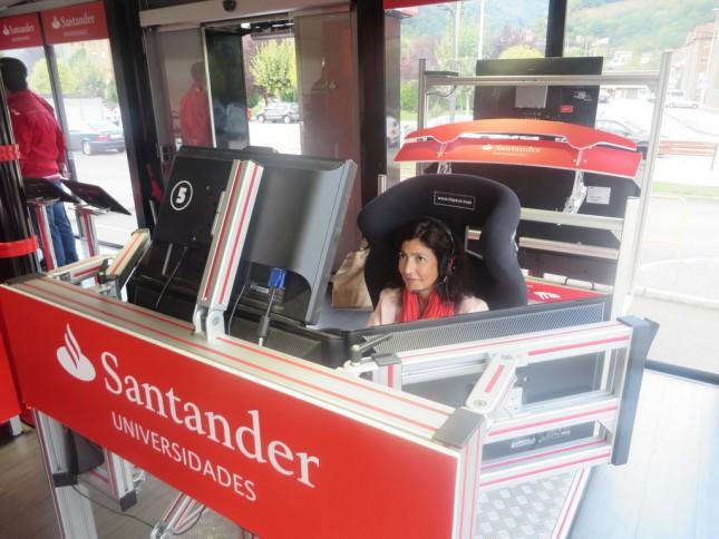 Banco Santander se une a la lucha contra el cáncer en su gira universitaria RedBox
