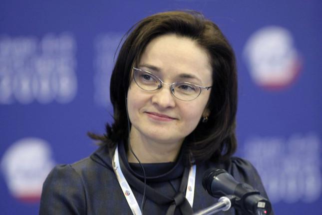 Elvira Nabiullina, banquera central del año según Euromoney