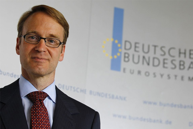 Weidmann (Bundesbank) ve posible una primera subida de tipos en 2019