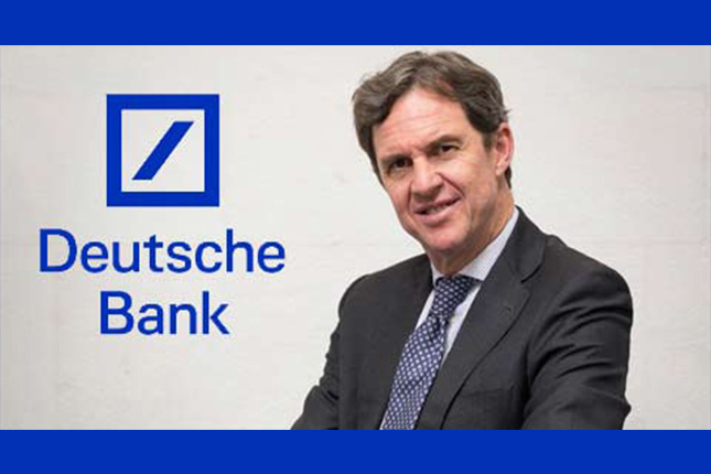 Deutsche Bank designa a Luis Marquet nuevo director de Productos de Financiación