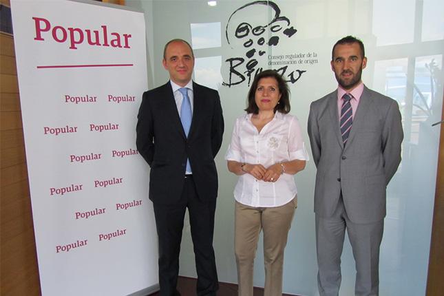 Banco Popular firma un acuerdo con la DO Bierzo
