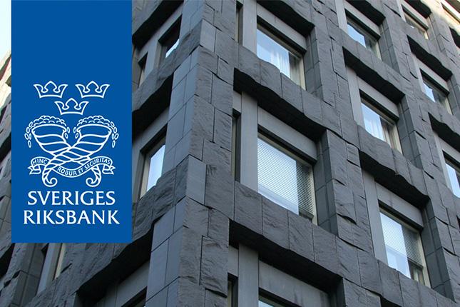 El Banco de Suecia reduce los tipos de interés al -0,50%