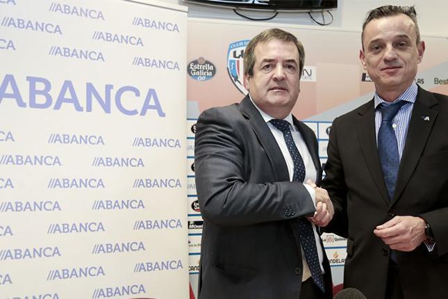 Abanca extiende el patrocinio sobre el CD Lugo