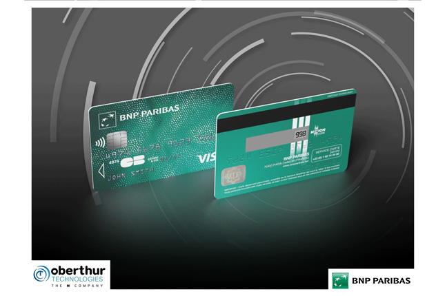 BNP Paribas prueba nueva tarjeta para mejorar la seguridad en Internet