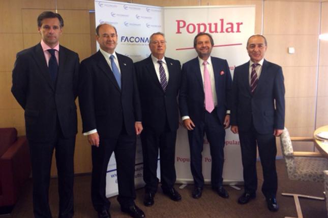 Banco Popular y Faconauto impulsan el sector automovilístico
