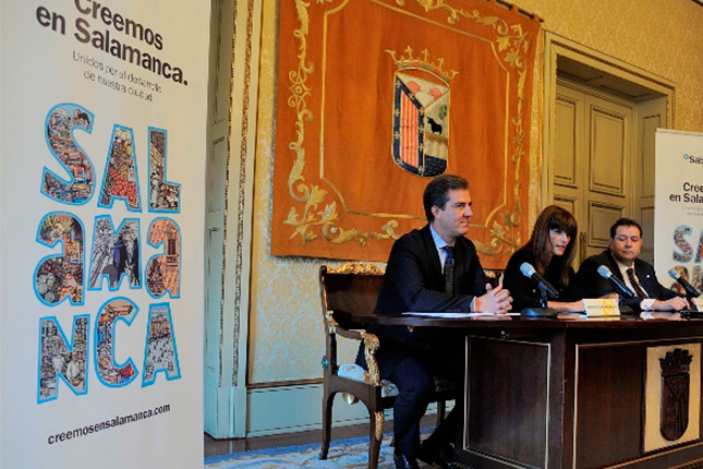 "Banco Sabadell: campaña ""Creemos en Salamanca"""