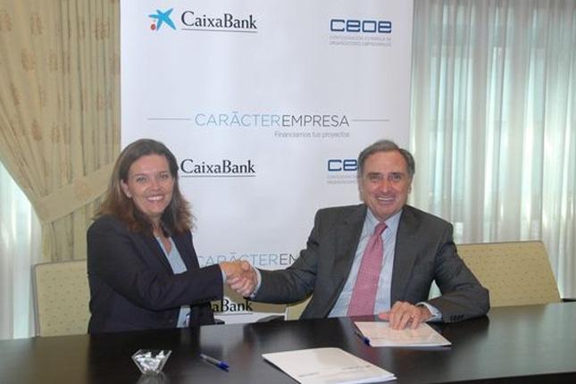 La CEN se une al acuerdo entre CaixaBank y la CEOE
