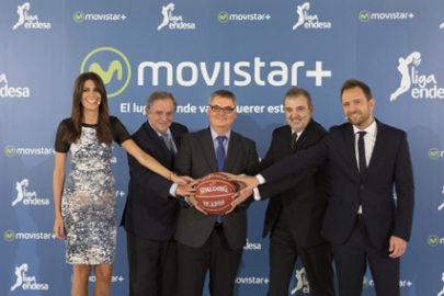 Movistar+ presenta su acuerdo con la ACB por 3 temporadas