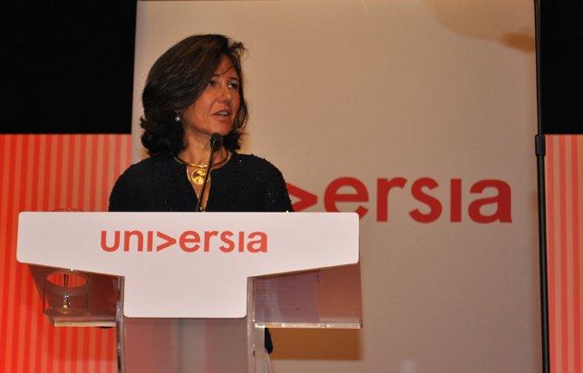 Ana Botín preside el Consejo de Administración de Universia México