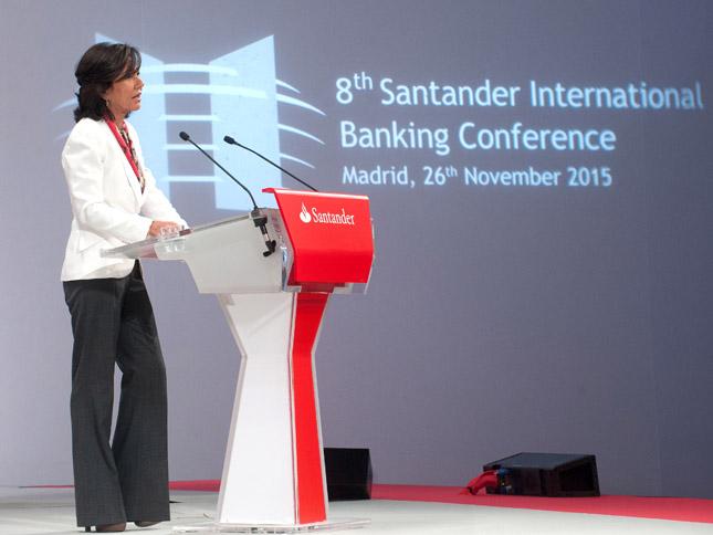 Ana Botín preside la VIII Conferencia Internacional de la Banca de Banco Santander