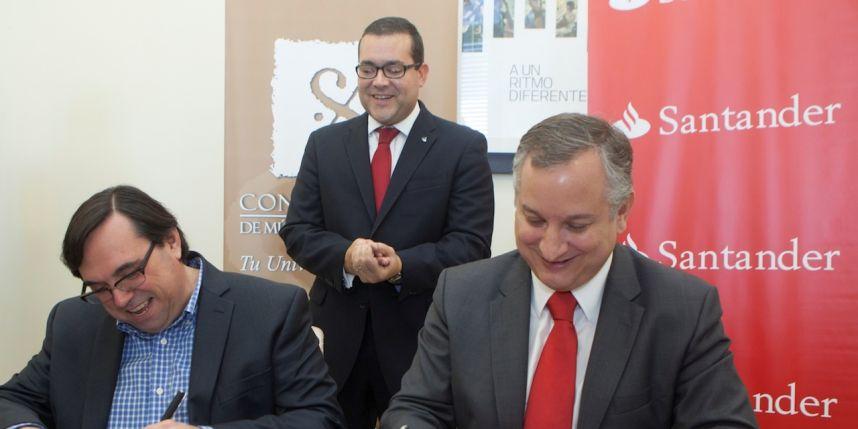 Banco Santander firma un acuerdo de colaboración con el Conservatorio de Música de Puerto Rico