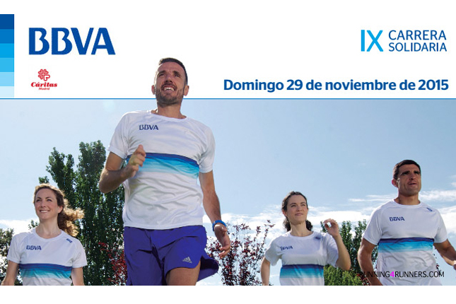 Carrera Solidaria BBVA reúne 160.000 euros para Cáritas Madrid