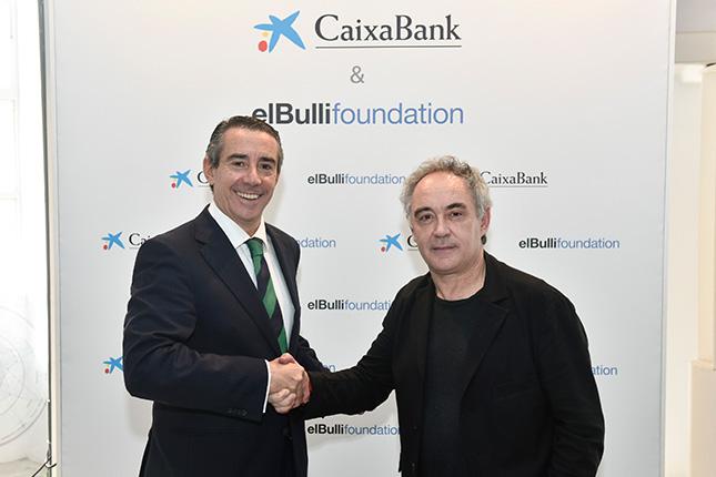 CaixaBank firma un acuerdo con elBullifoundation