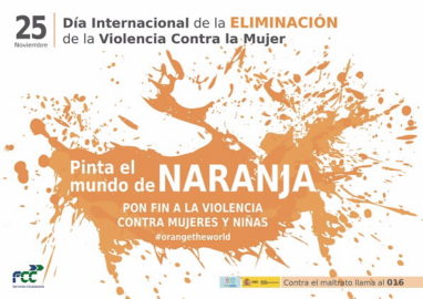 FCC se suma al día contra la Violencia de Género con acciones voluntarias
